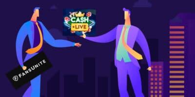 FansUnite Entertainment Teams Up With Cash Live Inc